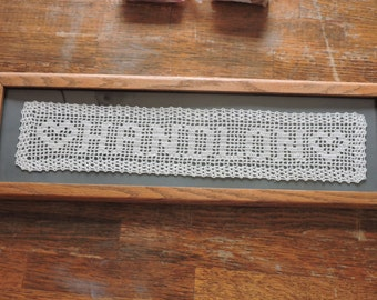 Filet Crochet Doily Etsy
