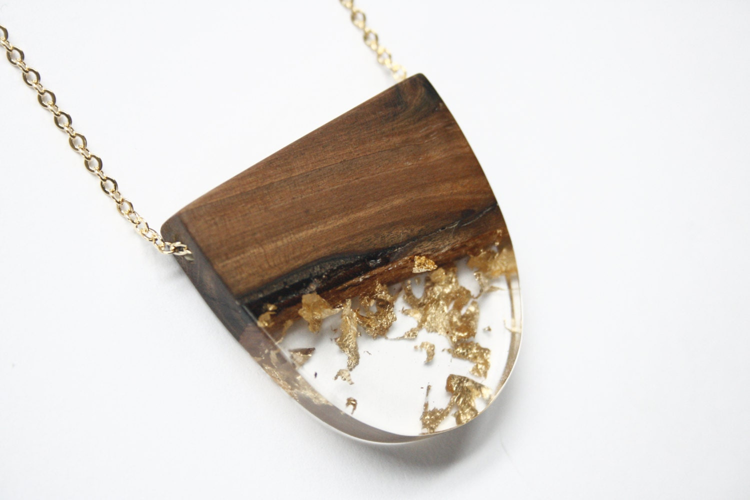 Large statement pendant necklace handmade from australian for How to make a wooden pendant