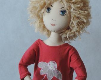Dorothy – cloth doll