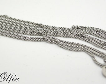 Stainless steel chain for pregnancy necklace