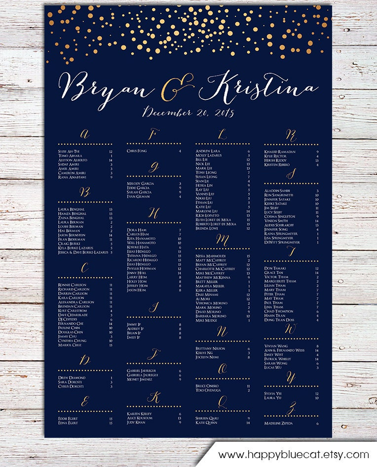 wedding seating chart poster templates socialmediaworksco – Seating Chart Poster Template