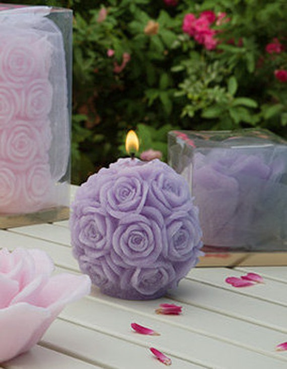 gift for her decorative candles scented candles rose candles - Decorative Candles