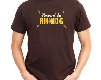 Powered By Film Making T-Shirt