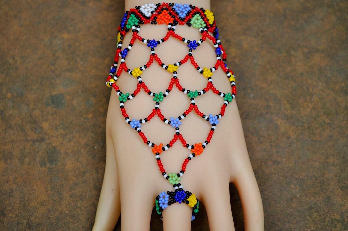 african hand jewellerybeaded slave braceletbeaded