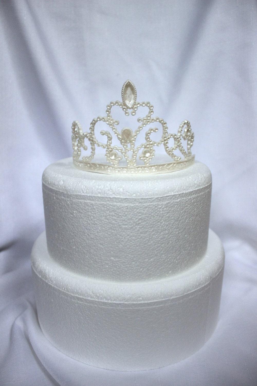 Edible Tiara Cake Topper
