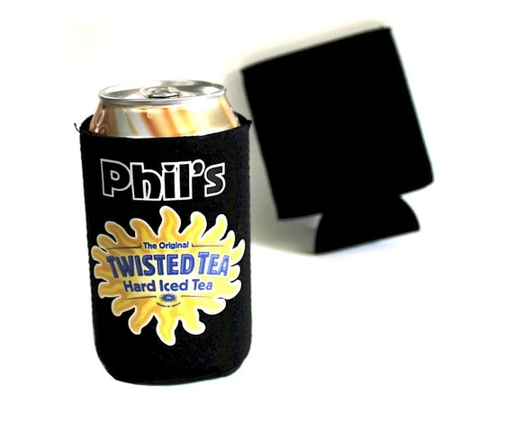 Twisted Tea Beer Can Or Bottle Cooler By Sportsandbrewforyou