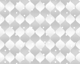 Henry Glass 9688 Holiday Cheer, Jan Shade Beach, Gray Winter Fabric, Shades of Gray Fabric, Gray Blender Fabric, Cotton, Sale