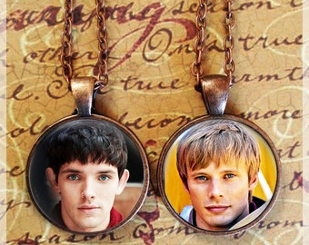 Choose from 15 images! - Merlin BBC Pendant