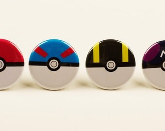 Poke Ball Pins (All of Them)