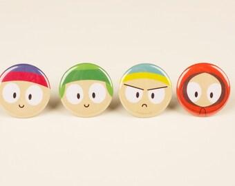 South Park Pins