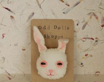 Odd Bunny Pin/Badge ((Made to Order))