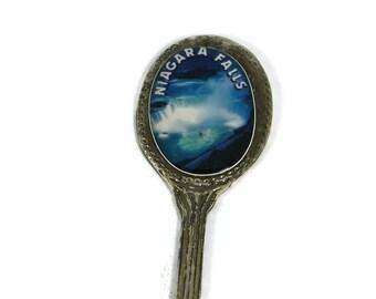 Souvenir Teaspoon Niagara Falls Souvenir Spoon Stocking Stuffer Canada Souvenir Grandmother Gift for Her Travel Kitchen Decor Home Decor