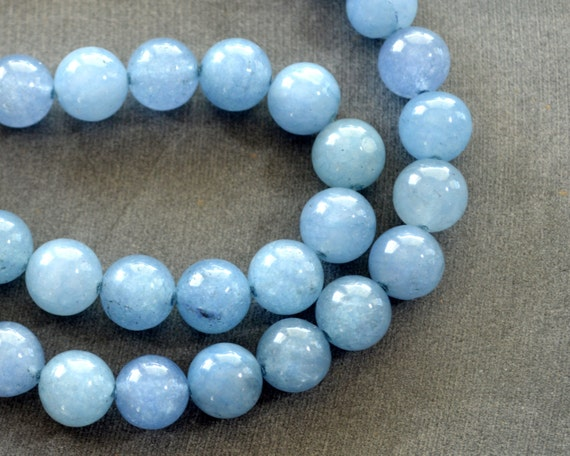 10mm blue aventurine light blue gemstone blue