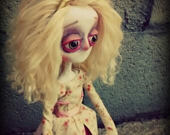 Gothic Art Doll, OOAK Handmade Dark Manor Doll: Princess Henrietta