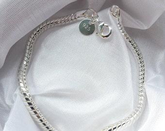 Edles Arrmband im Diamantschliff aus Sterlingsilber, wunderbar edel.