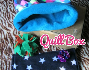 Quill Box - Gift Box of Toys and Treats for African Pygmy Hedgehogs