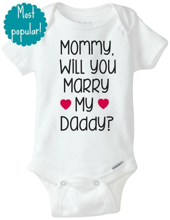 de9f517c9 NEW 73 BABY ONESIES WILL YOU MARRY ME