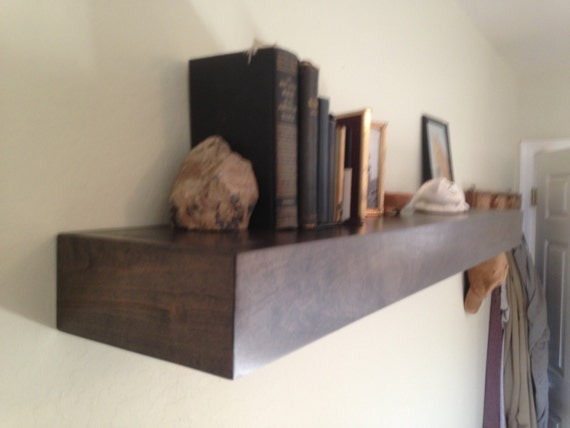 floating shelf floating shelves60 x 6 x 4 deep by azdesertwood. Black Bedroom Furniture Sets. Home Design Ideas