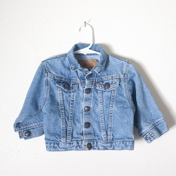 Vintage Baby Levi's Jean Jacket 18 Mo 80s Jean Jacket