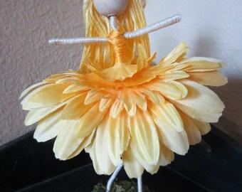 OOAK Flower Diva doll