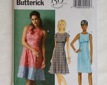 Butterick 5894 Dress Pattern / Misses' Sewing Pattern / Sz 16-24