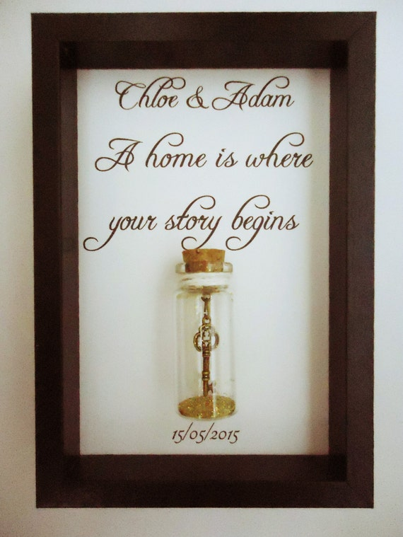New Home First Home Gift Housewarming Key By