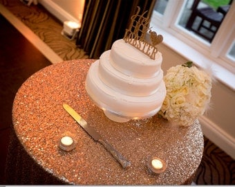 Gold Sequin TableCloth Table Runner