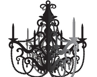 1/  Elegant Party Chandelier