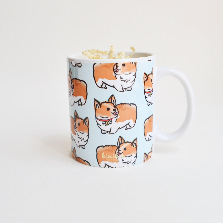 Mug Corgi Mug Dog Mug Cute Mug Puppy Mug Welsh Corgi
