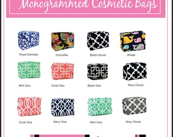 Add On Cosmetic Bags