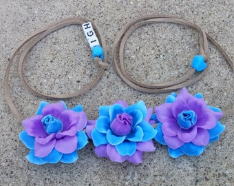 Berrytastic Flower Halo/ Flower Headband/ Crown/ Halo