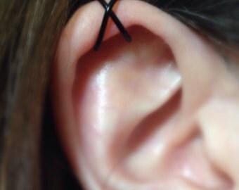 18 gauge Cross Upper Cartilage Ear Cuff