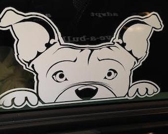 Twinkie A (Pitbull) Window Decal