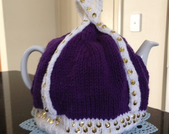 Knitted Teacosy fits a 4-6 cup pot