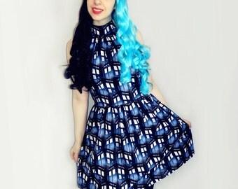 Doctor Who Tardis dress.
