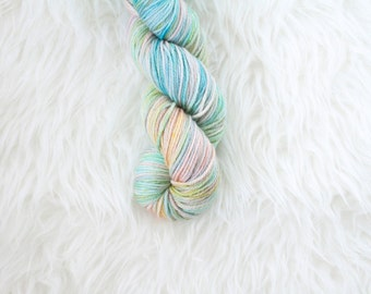 easter egg - hand-dyed yarn - worsted weight merino wool