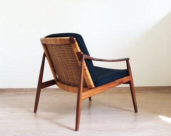 Easy chair Hartmut Lohmeyer Wilkhahn Teak 50er/60er vintage