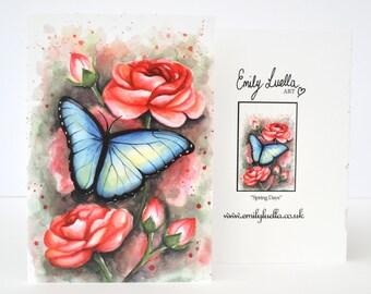 "Fine Art Greeting Card - Spring Days 6"" x 4"""