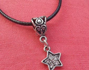 NECKLACE Silver Star Charm