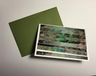 Green Dreams card (blank)
