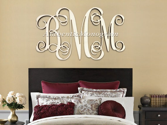 wooden monogram wall letters home decor wedding stock2morrow