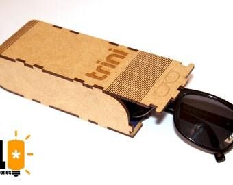 Personalized glasses case
