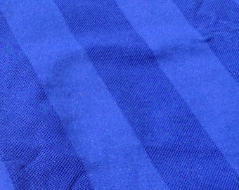 Cool Bright Blue 90s Textured Fabric
