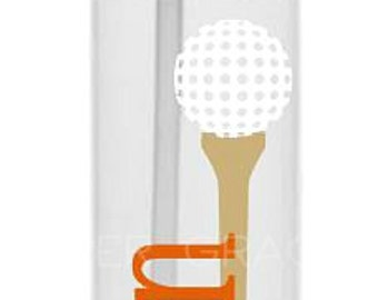 Golf Water Bottle, Golf Gift, Sports Water Bottle, Golf Coach Gift