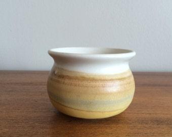 Mid Century Art Pottery, Small Stoneware Pot