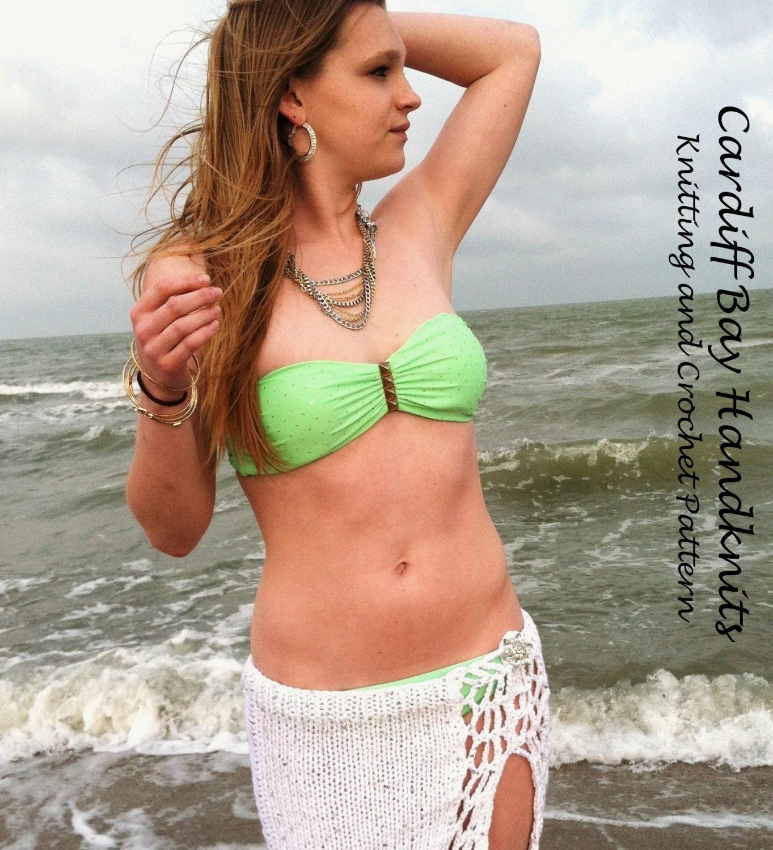 Knitting patternbeach cover upmini skirtcrochet zoom bankloansurffo Images
