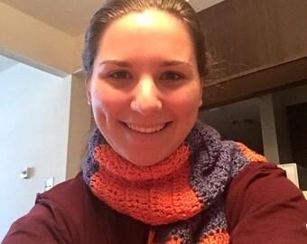 Color-block scarf