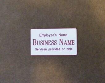 Custom Made Professional Badges *