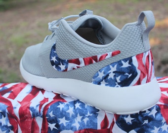 LIMITED American Flag Nike Custom Roshe