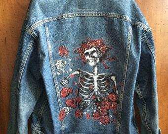 Hand-painted Jacket, Grateful Dead Album